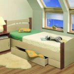 Какую односпальную кровать выбрать: виды и модельный ряд