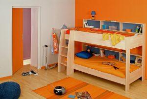 Простая кровать для двух детей