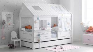 Стильная кровать для девочек от 3 лет