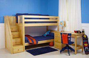 Детская двухместная кровать
