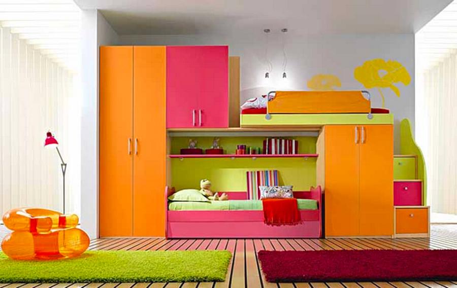 Детская комната для двоих детей дизайн детской комнаты фото .