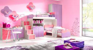 Кровать для двоих с комодом