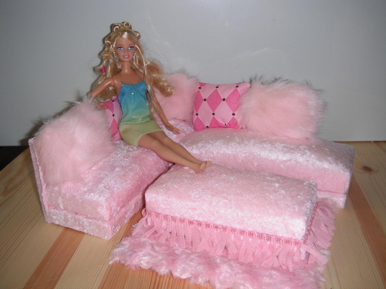 Как для куклы сделать красивую кровать в