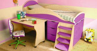 Кровати для детей разного возраста и пола