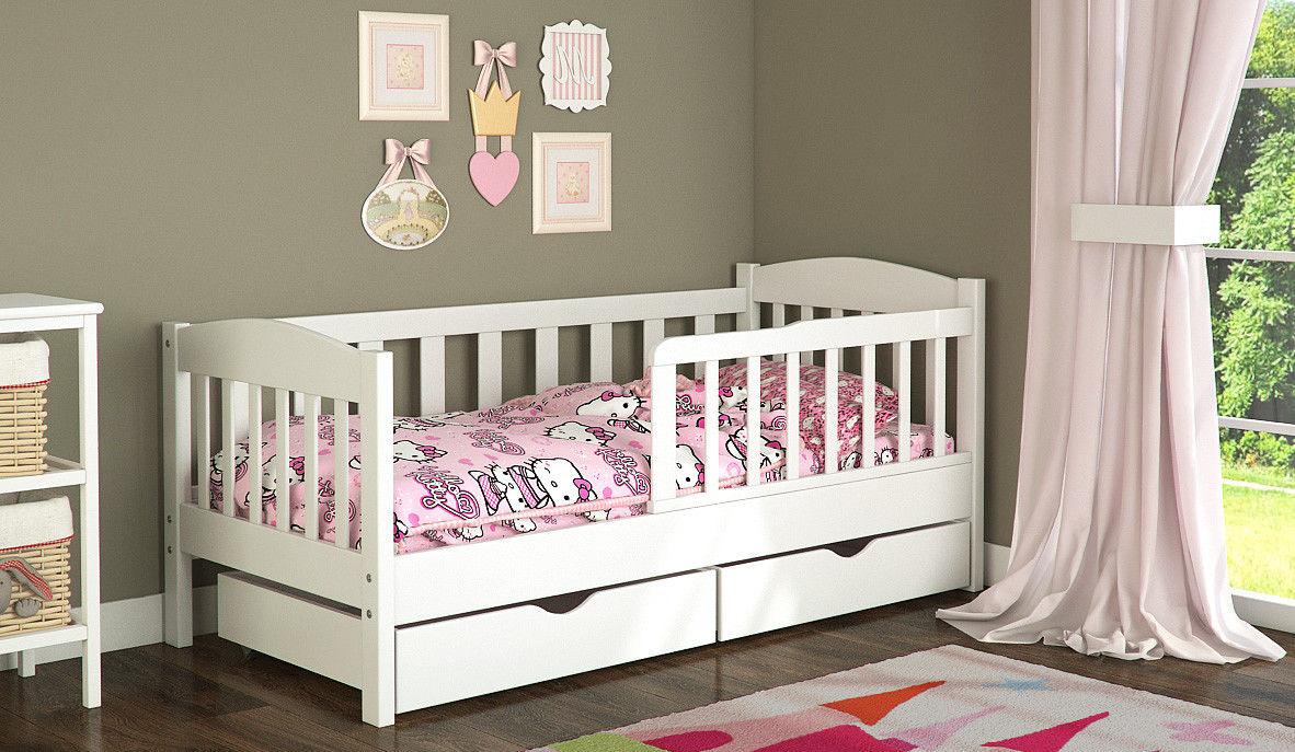 Кровать для ребенка от 3-х лет с ящиками