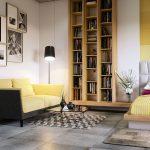 Особенности размещения кровати и дивана в одной комнате