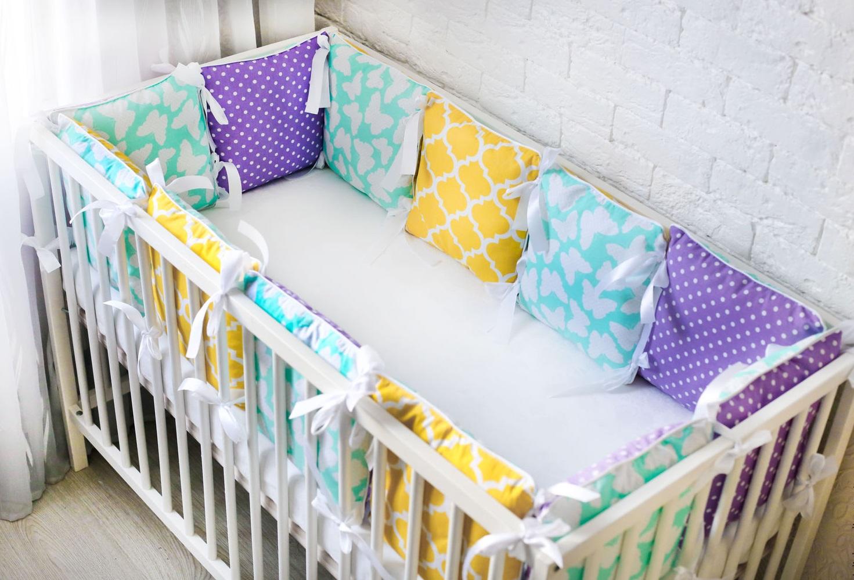 Бортики для детской кроватки своими руками мастер 77
