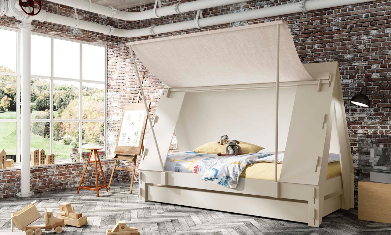 Такая кровать обязательно понравится ребенку