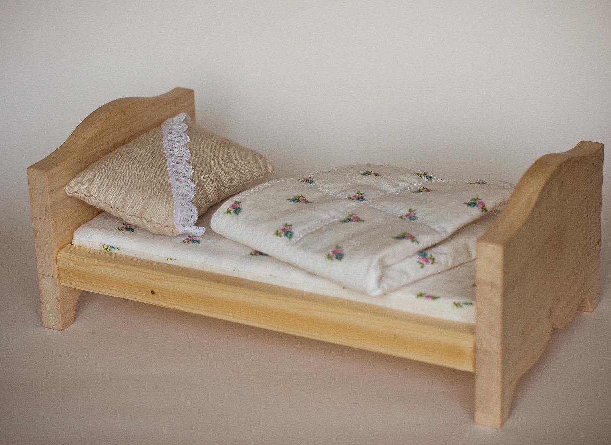 Кровать для куклы своими руками чертежи