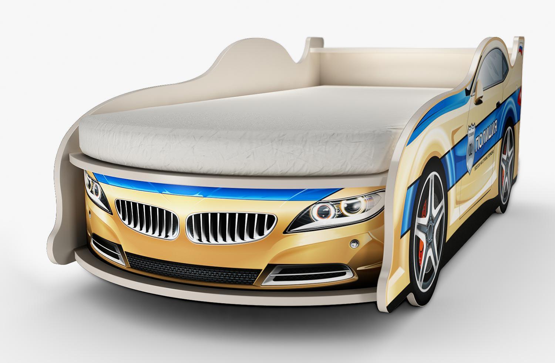 Удобная, комфортная и оригинальная модель кровати для ребенка