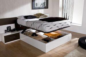 кровати с подъемным механизмом виды моделей и их особенности