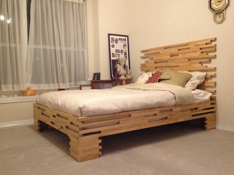Дизайнерский кровать своими руками
