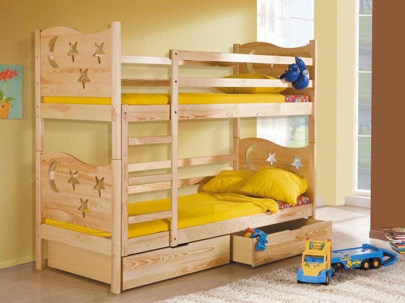 Двухъярусная кровать своими руками из дерева