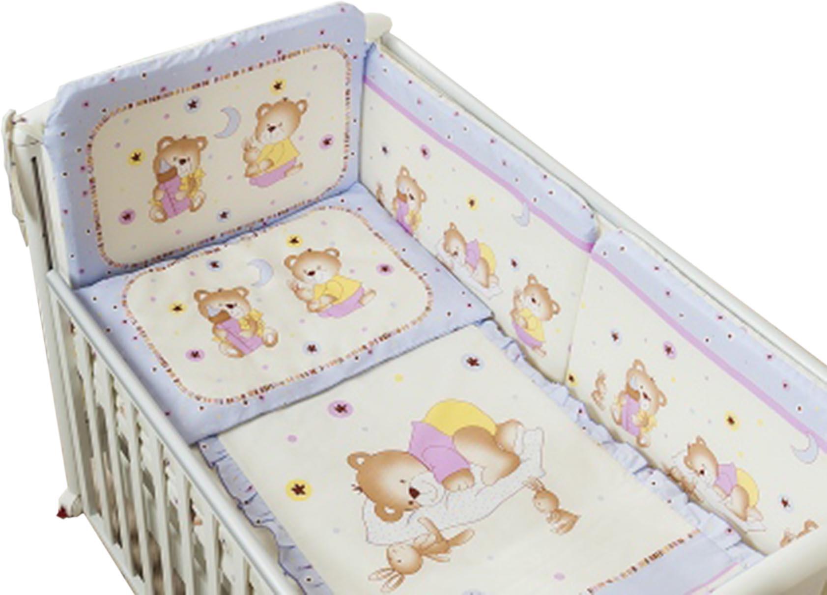 Постельное белье с медведями и зайцами