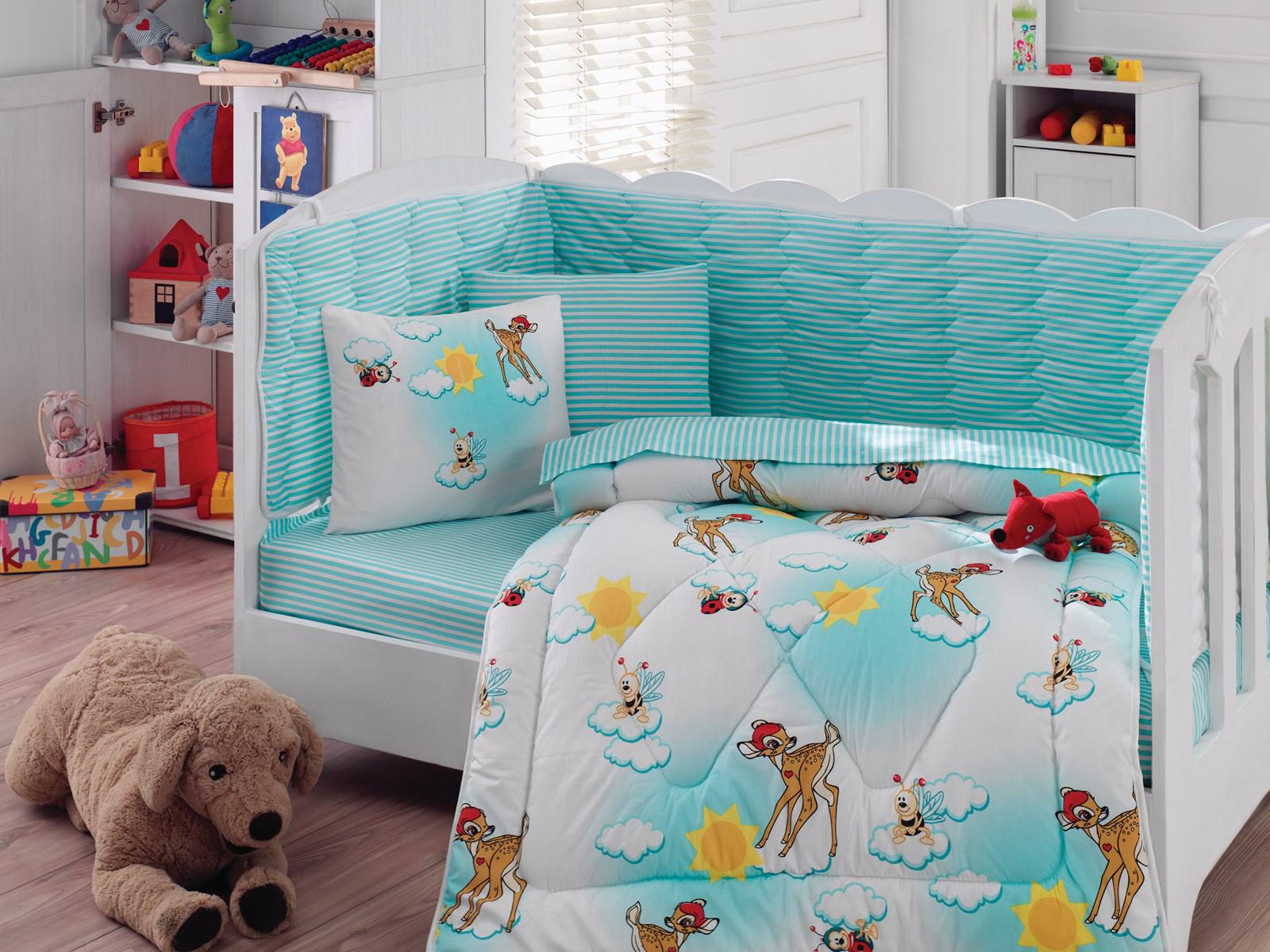 Детское постельное белье с оленями