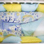 Советы по выбору постельного белья в кроватку для новорожденных