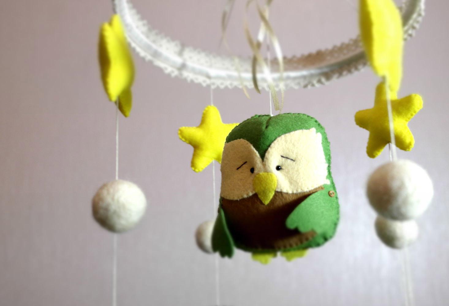 Оригинальные мягкие игрушки для детского мобиля