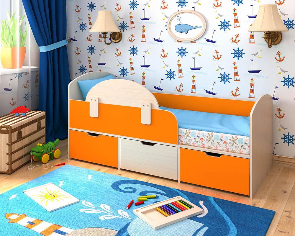 Многофункциональная, комфортная и безопасная кровать для ребенка