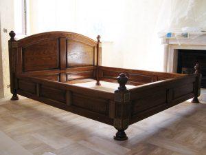 кровать из дерева своими руками особенности подбора материалов и