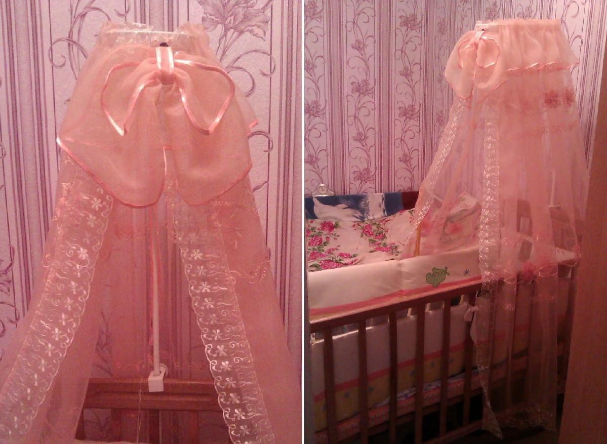 Балдахин на детскую кроватку своими руками пошагово с фото 25