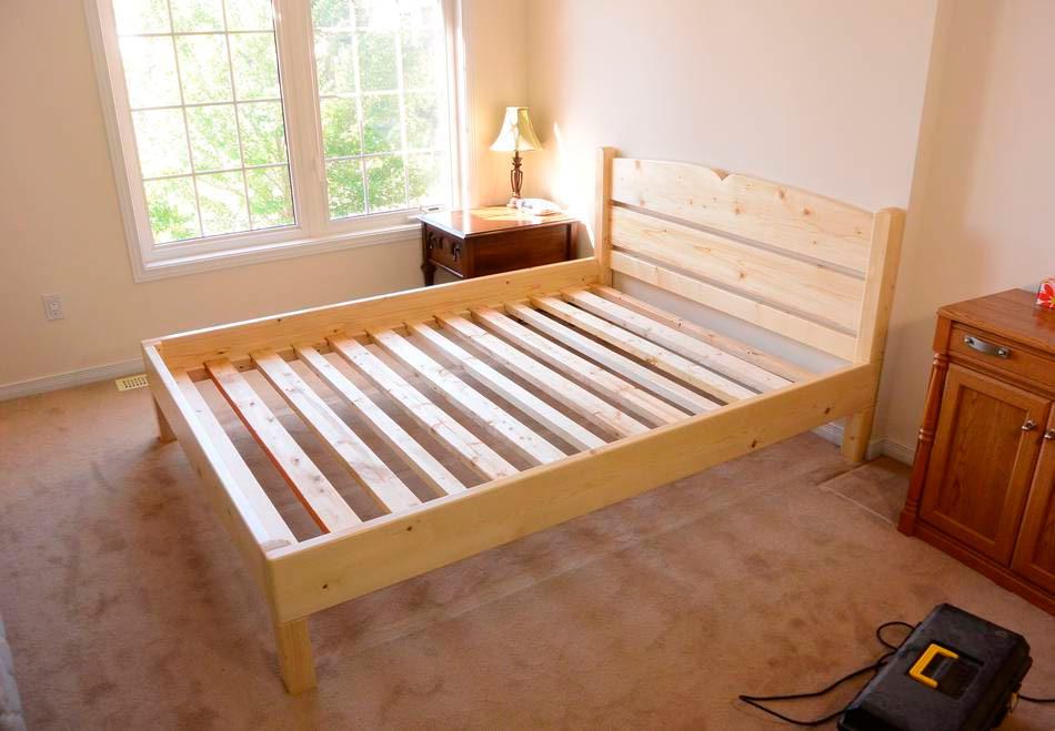 кровать своими руками с фото