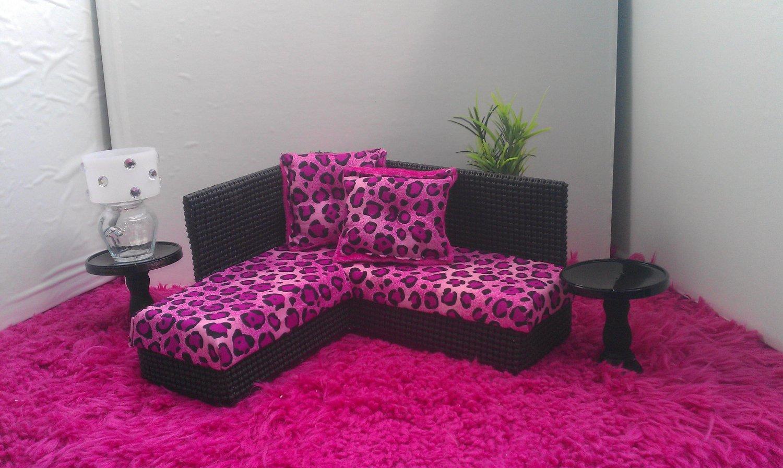 Как сделать для барби диван