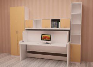 стол кровать трансформер для школьника виды и основные преимущества