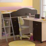 Кровать-чердак как разновидность двухъярусной мебели