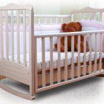 Типы кроватей для малышей