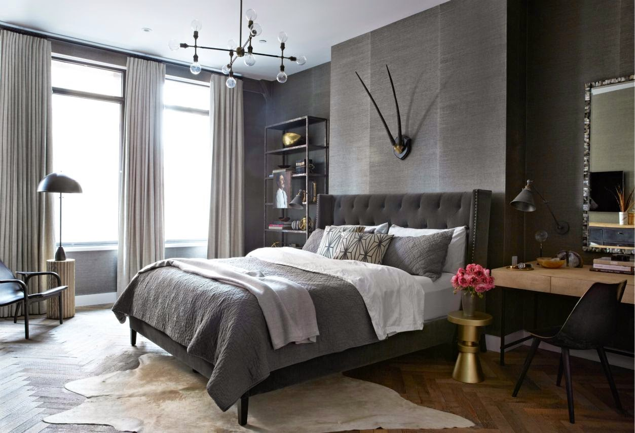 Выбираем оттенки для ремонта спальни