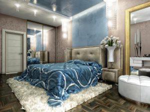 Декоративная краска для спальни