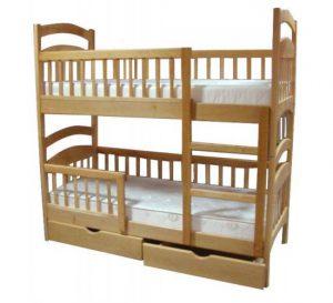 Детская кровать с двумя ярусами