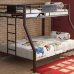 Интерьер детской с двухъярусной кроватью