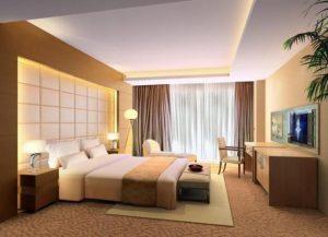 Как выбрать оттенок потолка в спальне