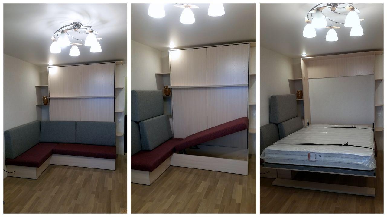 Как использовать кровать-шкаф
