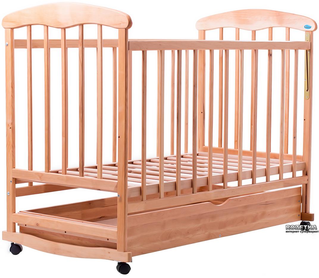 Кроватка на коесиках