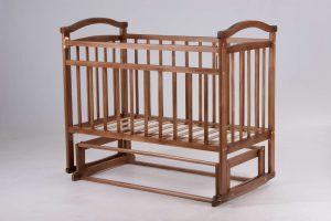 Маятниковый механизм укачивания в детских кроватях
