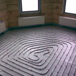 Технология «теплый пол» для спальни
