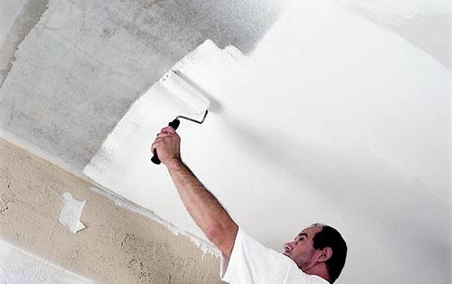 Как белить стены валиком без разводов