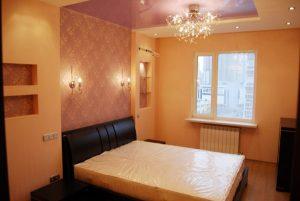 Пример радиатора в спальне