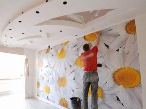 Проведение ремонта в спальне