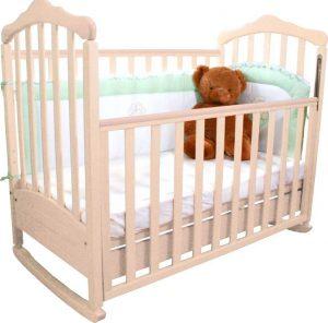 Прочная кровать для новорожденного