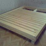 Рама для двуспальной кровати