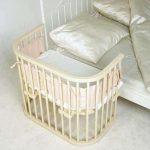 Современная кровать для новорожденных