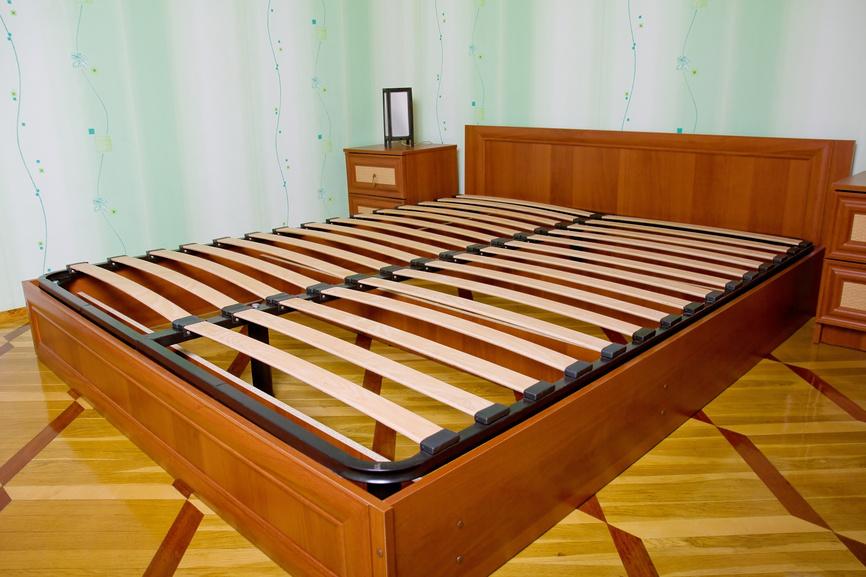 каркас кровати без ножек своими руками