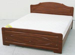 Удобная кровать из мдф