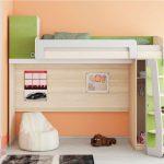 Удобное обустройство детской комнатфы