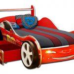 Функциональная кровать машинка