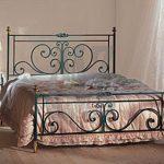 Шикарная кровать из металла