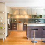 Практичная кухня для дома